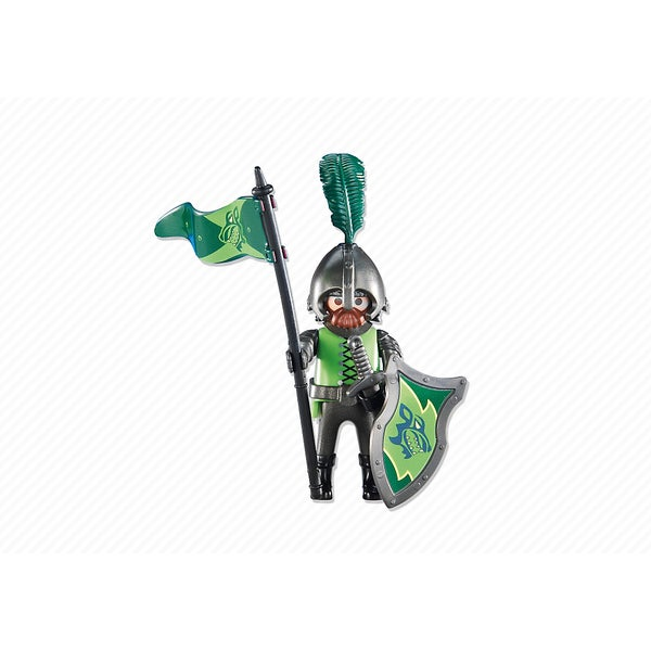 PlayMobil PM6384 Leader of the Wolf Knights Figure