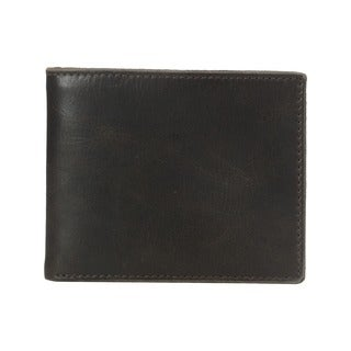 Fossil Anderson Black Leather Bifold Wallet