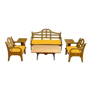 Wedgewood Furniture Palladian Lounge Six Piece Patio Set