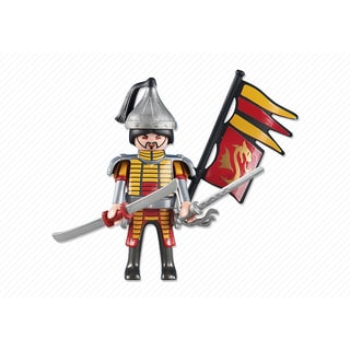 PlayMobil PM6325 Red Dragon Knights Leader