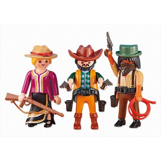 PlayMobil PM6278 2 Cowboys and Cowgirl