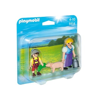 PlayMobil PM5514 Country Woman and Boy Duo Pack