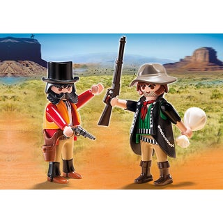 PlayMobil PM5512 Sheriff and Outlaw Figurine Duo Pack