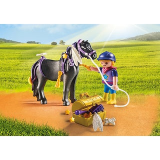 Playmobil PM6970 Groomer with Star Pony