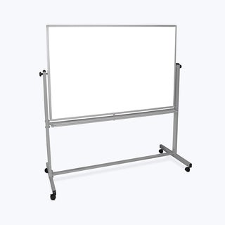 Offex 60-inch x 40-inch Mobile Reversible Magnetic Whiteboard