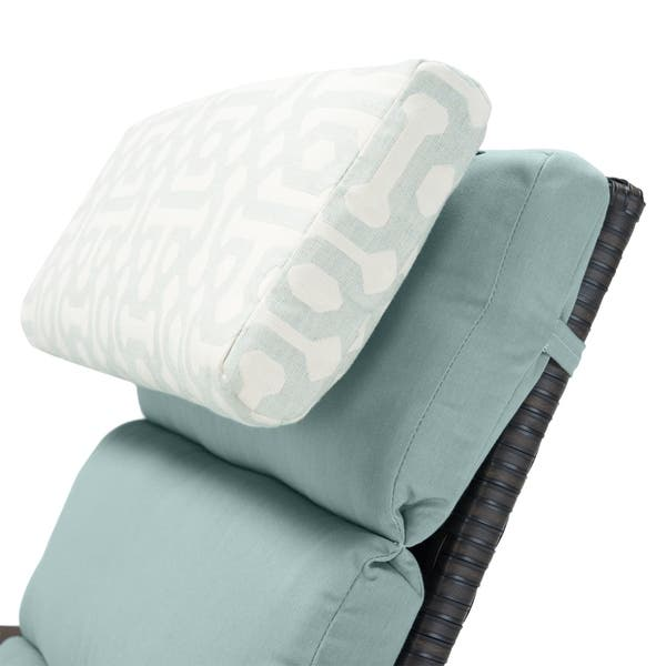 Marvelous Shop Rst Barcelo 2 Pc Chaise Lounge Chair In Spa Blue Squirreltailoven Fun Painted Chair Ideas Images Squirreltailovenorg
