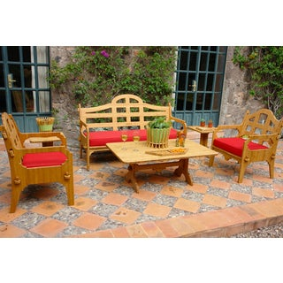 Wedgewood Furniture Palladian Lounge Six Piece Patio Furniture