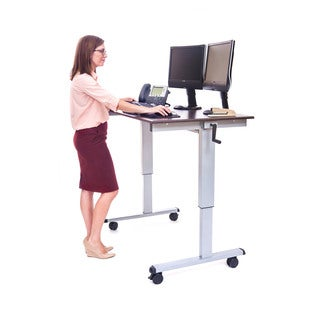 Offex Standup-CF48-DW 48-inch Crank Adjustable Stand-up Desk