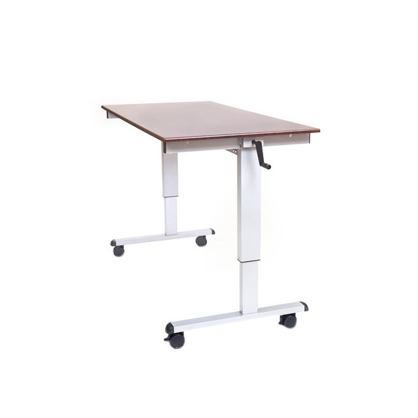 Shop Offex Standup Cf60 Dw 60 Inch Crank Adjustable Stand Up Desk