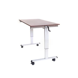 Offex Standup-CF60-DW 60-inch Crank Adjustable Stand-up Desk