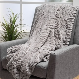 Christopher Knight Home Rosen Faux Fur Throw