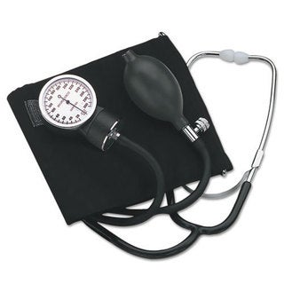 HealthSmart Self-Taking Home Blood Pressure Kit, 22 in Stethoscope, Large Adult