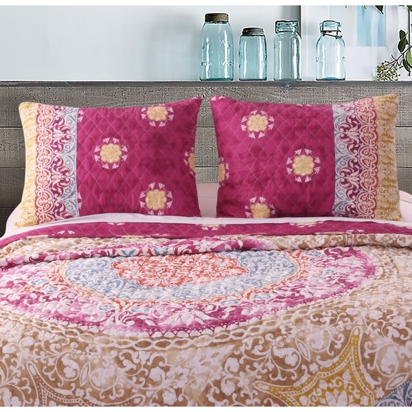 Greenland Home Fashions Delphi Pillow Shams, set of two (2)