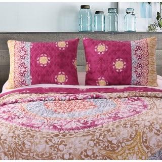 Greenland Home Fashions Delphi Pillow Shams, set of two (2)
