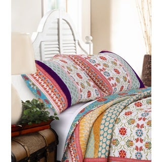 Greenland Home Fashions Thalia Pillow Shams (Set of 2)