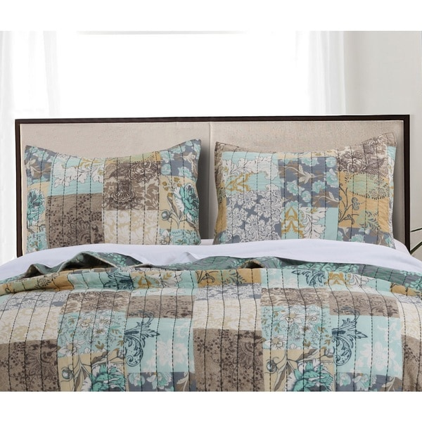 Greenland Home Fashions  Elle Pillow Shams, set of two (2)