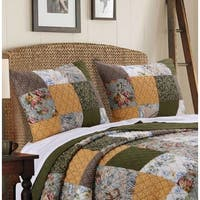 Greenland Home Fashions  Cedar Creek Pillow Shams, set of two (2)