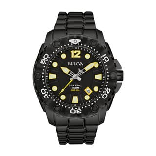 Bulova Men's 98B242 Sea King Analog Display Japanese Quartz Black Watch|https://ak1.ostkcdn.com/images/products/13621550/P20292385.jpg?impolicy=medium