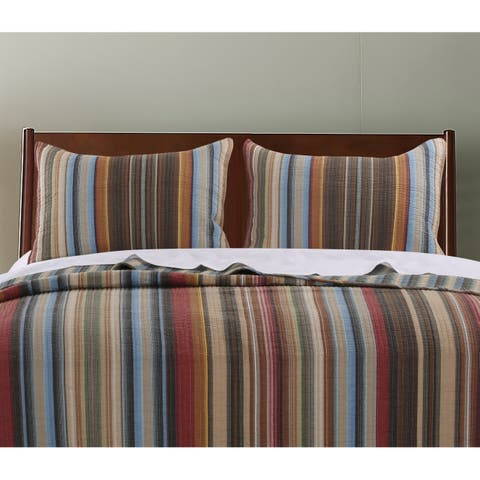 Greenland Home Fashions Durango Pillow Shams, set of two (2)