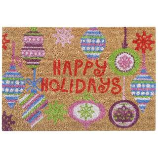 SuperScraper 'Bright Ornaments' Printed Mat (16 in. x 24 in.)