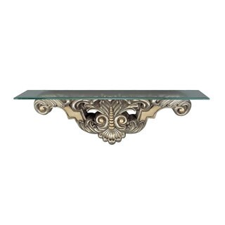 Leaf and Bead Console Table