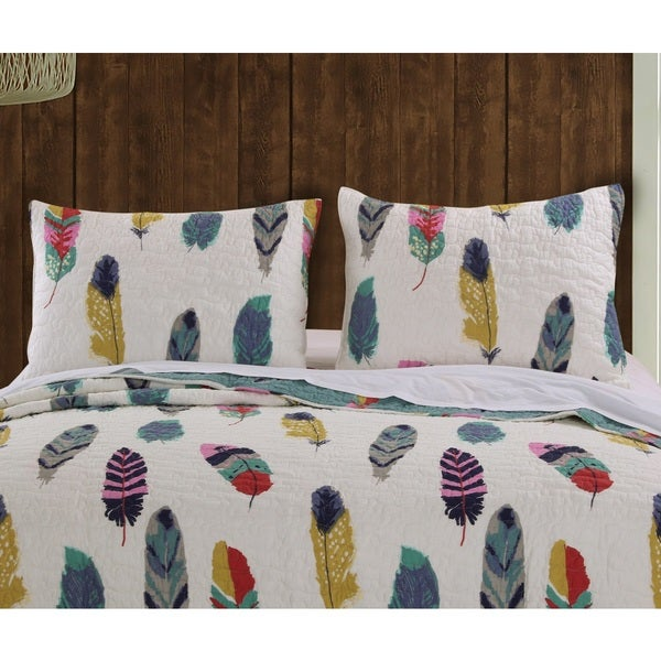 Greenland Home Fashions Dream Catcher Pillow Shams, Set of two (2)
