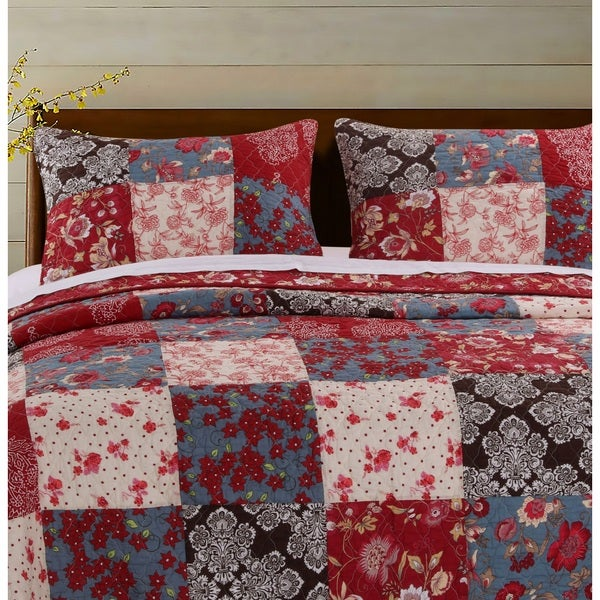 Greenland Home Fashions Nicole Pillow Shams, set of two (2)