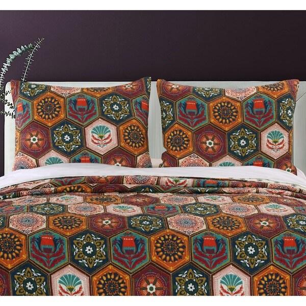 Greenland Home Fashions  Annika Pillow Shams, set of two (2)