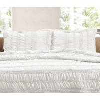 Greenland Home Fashions Tiana White Pillow Shams (Set of 2)