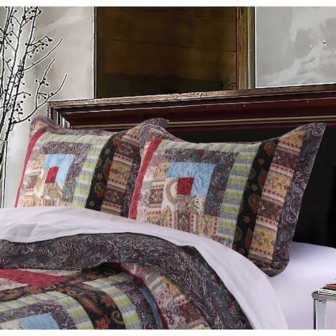 Greenland Home Fashions Colorado Lodge Pillow Shams, set of two (2)