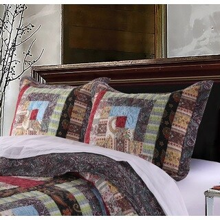 Greenland Home Fashions Colorado Lodge Pillow Shams, set of two (2)