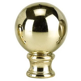 Gold-tone Metal Cast Finial