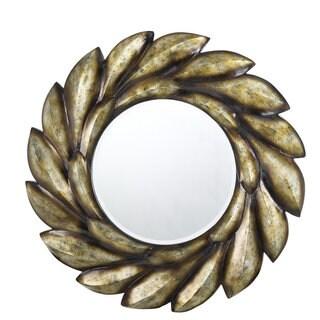 Tivoli Bronze Finish Polyeurethane Beveled Mirror