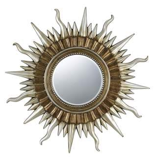 Sunburst Polyurethane Beveled Mirror