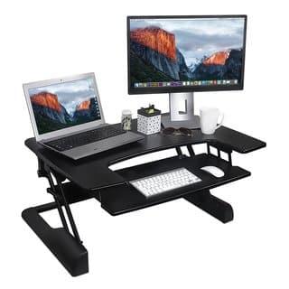 Mount-It. Height-adjustable Ergonomic Sit-Stand Desk|https://ak1.ostkcdn.com/images/products/13621721/P20292545.jpg?impolicy=medium