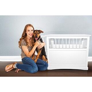 FurHaven Dog Crate Furniture End Table