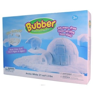 Waba Fun Llc Bubber Arctic White 21-ounce Big Box