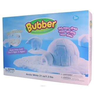 Waba Fun Llc Bubber Arctic White 21-ounce Big Box