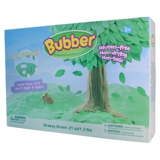 Waba Fun Llc Bubber Grassy Green 21-ounce Big Box