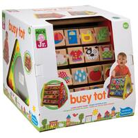 Alex Toys Busy Tot Multicolor Wood Play Set
