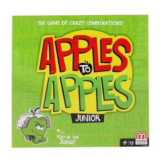 Mattel Apples To Apples Junior Game