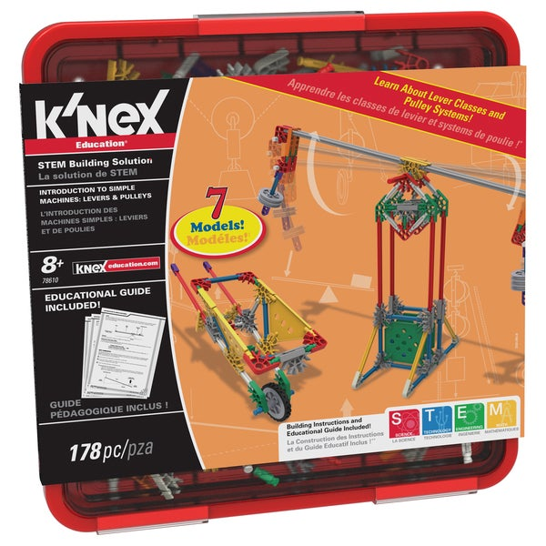 K'nex Levers and Pulleys Multicolor Building Set