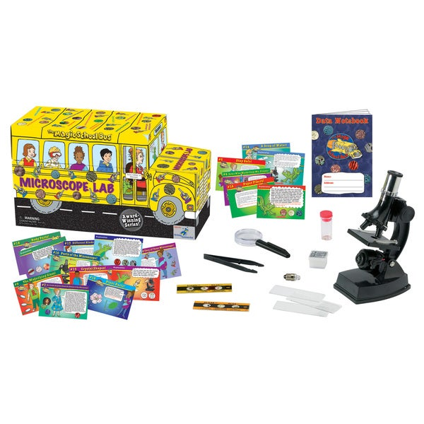 The Magic School Bus Microscope Lab