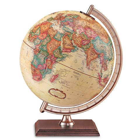 The Forester Wood 9-inch Globe