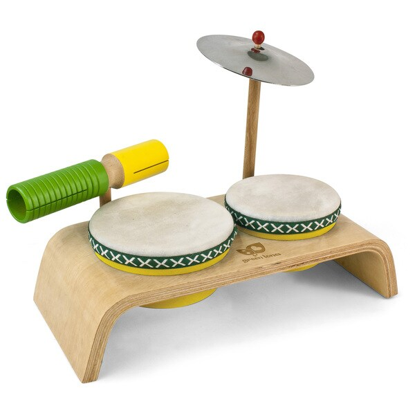 Green Tones Beginner Drum Set