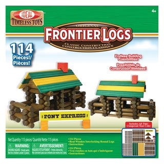 Poof Products Inc.-Slinky 114-piece Frontier Logs Set
