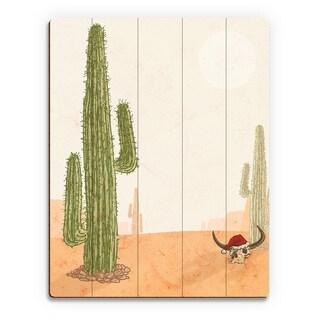 'Desert Christmas ' Printed Wood Wall Art