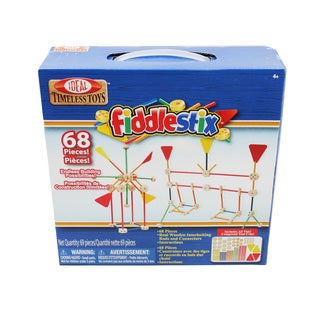 Ideal Fabulous Fiddlestix 68-piece Construction Toy Set