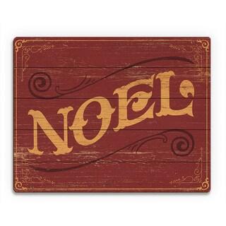 'Classic Noel ' Printed Wood Wall Art