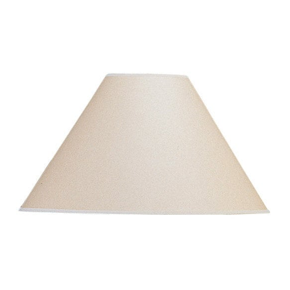 Basic Vertical Beige/Brown Coolie Lamp Shade (Shade) (Fab...